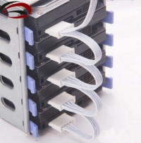 4pin IDE Molex 1 до 5 SATA Адаптер питания