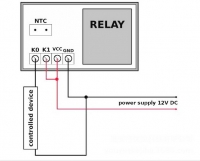 W1218 Электронный термостат