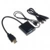 Адаптер HDMI-VGA audio+питание USB